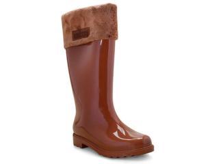 Bota Feminina Melissa 32586 50526 Winter Boot ii Marrom - Tamanho Médio