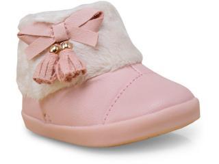 Bota Fem Infantil Pampili 416.002 Rosa - Tamanho Médio