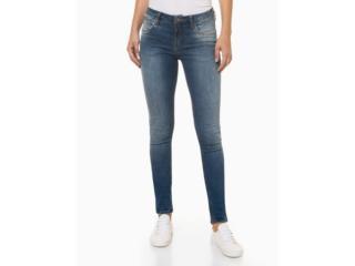 Calça Feminina Calvin Klein Cf0pc11dy170 Azul Médio - Tamanho Médio