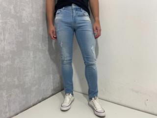Calça Masculina Coca-cola Clothing 13202535 Jeans - Tamanho Médio