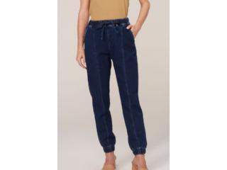 Calça Feminina Dzarm Zu5p 1asn  Jeans Escuro - Tamanho Médio