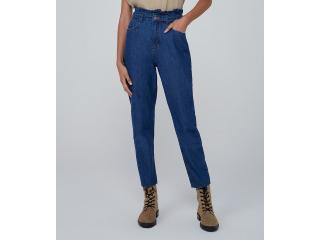 Calça Feminina Dzarm Zu73 1asn Jeans Escuro - Tamanho Médio
