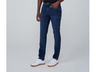 Calça Masculina Dzarm Zu6u 1asn Jeans Escuro - Tamanho Médio