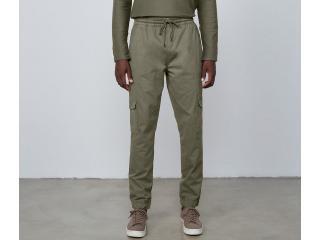 Calça Masculina Dzarm Zu7y Eacsn Verde Militar - Tamanho Médio