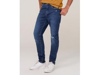 Calça Masculina Dzarm Zu66 1asn  Jeans Escuro - Tamanho Médio
