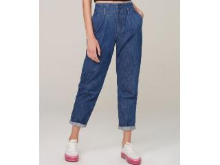 Calça Feminina Dzarm Zu4n 1asn Jeans Escuro - Tamanho Médio