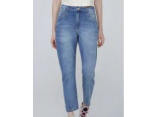 Calça Feminina Dzarm Zu86 1bsn Jeans - Tamanho Médio