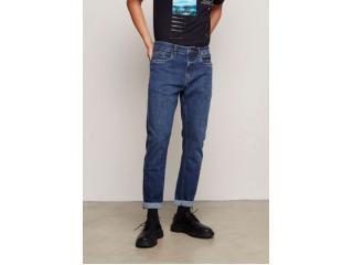 Calça Masculina Dzarm Zuak 1asn  Jeans Escuro - Tamanho Médio