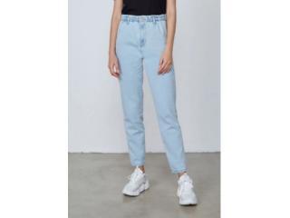 Calça Feminina Dzarm Zu78 1bsn Jeans Claro - Tamanho Médio