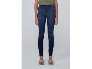 Calça Feminina Dzarm Zu75 1asn Jeans Escuro - Tamanho Médio