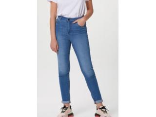 Calça Feminina Hering H998 1dsi Jeans Claro - Tamanho Médio