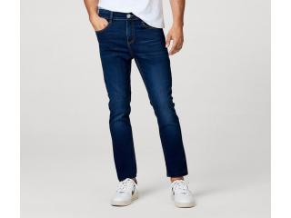 Calça Masculina Hering Kz0f  1bsi Jeans Escuro - Tamanho Médio