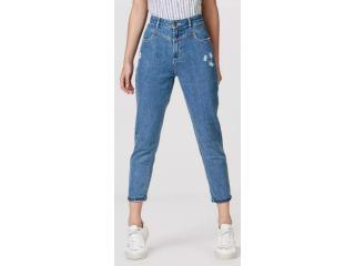 Calça Feminina Hering H97x 1bej Jeans Escuro - Tamanho Médio