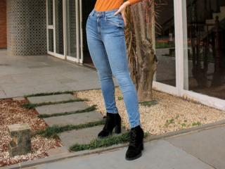 Calça Feminina Index 01.01.004994 Jeans - Tamanho Médio