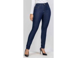 Calça Feminina Kacolako K21051 Jeans Escuro - Tamanho Médio
