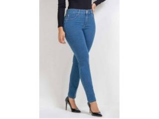 Calça Feminina Kacolako K21053 Jeans - Tamanho Médio