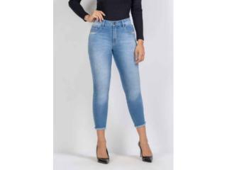 Calça Feminina Kacolako K37817 Jeans - Tamanho Médio