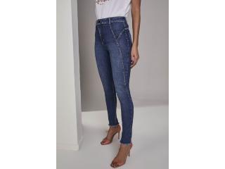 Calça Feminina Lado Avesso L115115 Jeans - Tamanho Médio