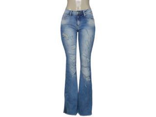 Calça Feminina Lado Avesso 100103 Jeans - Tamanho Médio