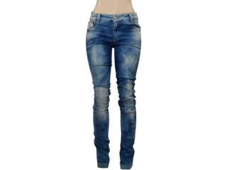 Calça Feminina Moikana 15818 Jeans - Tamanho Médio