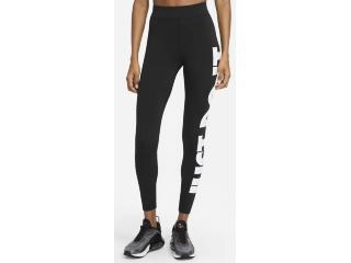 Calça Feminina Nike Cz8534-010 Sportwear Preto/branco - Tamanho Médio