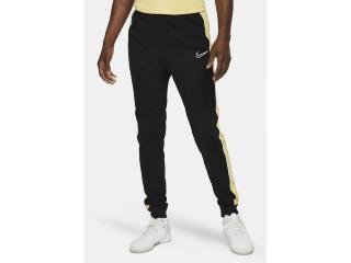 Calça Masculina Nike Cz0971-011 Dri-fit Academy Preto/amarelo - Tamanho Médio