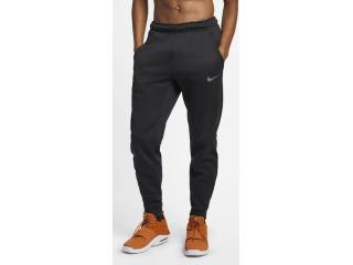 Calça Masculina Nike 932255-010 Therma Preto - Tamanho Médio