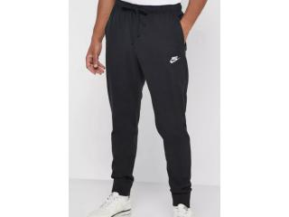 Calça Masculina Nike Bv2762-010 Nsw Club Jggr Preto/branco - Tamanho Médio