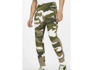 Calça Masculina Nike Bv2823-223 Sprtswear Club Camuflada - Tamanho Médio