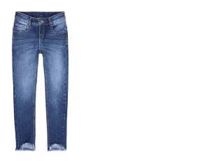 Calça Fem Infantil Puc Ubld 1aej Jeans - Tamanho Médio
