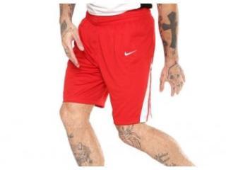 Calçao Masculino Nike 932171-658 m nk National Stk Vermelho/branco - Tamanho Médio
