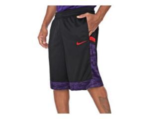 Calçao Masculino Nike At3171-011 m nk Dry Courtlines Preto/vermelho/roxo - Tamanho Médio