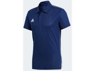 Camisa Masculina Adidas Cv3589 Core 18 p Marinho - Tamanho Médio