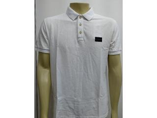 Camisa Masculina Calvin Klein Cm0oc02pc470 Branco - Tamanho Médio