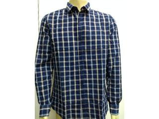 Camisa Masculina Calvin Klein Cm0oc03cl779 Marinho - Tamanho Médio