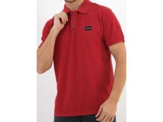Camisa Masculina Calvin Klein Cm0oc02pc470 Vermelho - Tamanho Médio