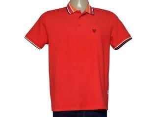 Camisa Masculina Cavalera Clothing 03.01.3824 Vermelho - Tamanho Médio