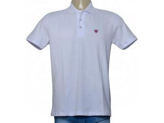 Camisa Masculina Cavalera Clothing 03.01.3979 Branco - Tamanho Médio
