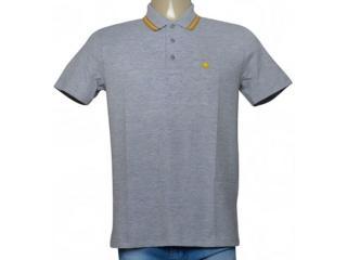Camisa Masculina Cavalera Clothing 03.01.0642 Mescla/mostarda - Tamanho Médio