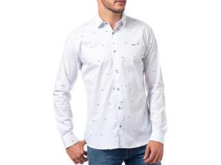 Camisa Masculina Coca-cola Clothing 313201038 Vc259 Off White Estampado - Tamanho Médio