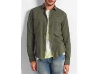 Camisa Masculina Colcci 310103725 39009 Verde - Tamanho Médio