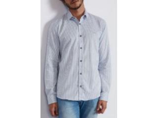 Camisa Masculina Colcci 310103793 Vc74 Xadrez Azul - Tamanho Médio