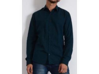 Camisa Masculina Colcci 310103795 Vc72 Verde Escuro - Tamanho Médio