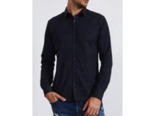 Camisa Masculina Colcci 310103798 Vc70 Marinho Estampado - Tamanho Médio