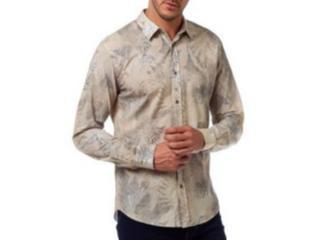 Camisa Masculina Colcci 310103624 Vc16 Estampada - Tamanho Médio