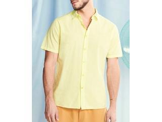 Camisa Masculina Colcci 310103670 53692 Amarelo - Tamanho Médio