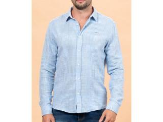 Camisa Masculina Colcci 310103640 Vc118 Branco Xadrez - Tamanho Médio