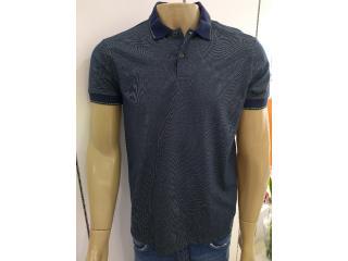 Camisa Masculina Colcci 250102098 Vc105 Verde/marinho - Tamanho Médio