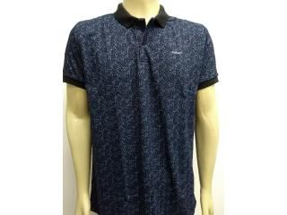 Camisa Masculina Colcci 250102340 Vc38 Preto/azul - Tamanho Médio