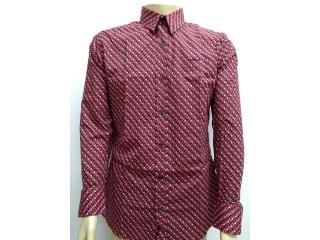 Camisa Masculina Colcci 310103497 Vc59 Vermelho Estampado - Tamanho Médio